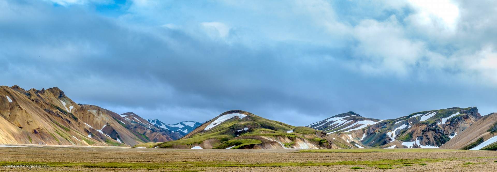 Landmannalaugar, Islandia, 2015