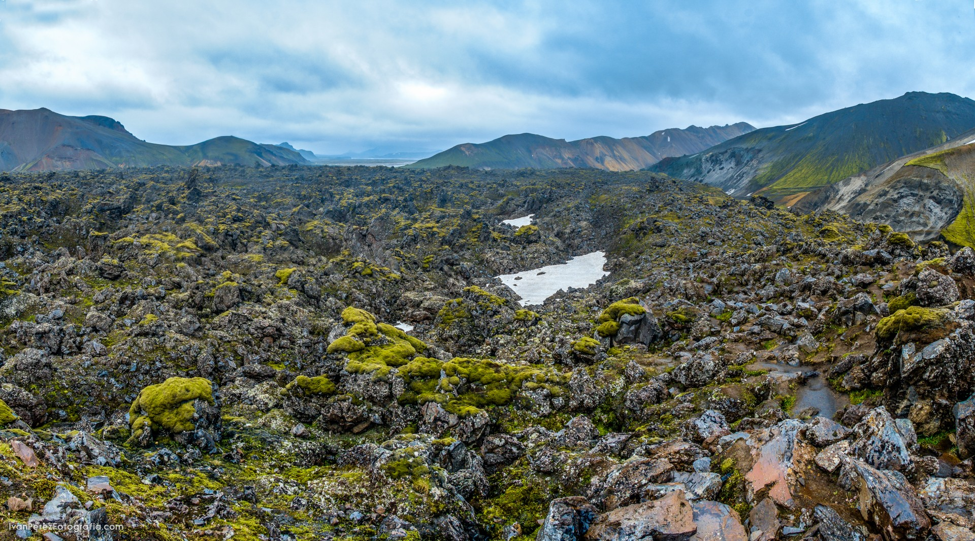 ISLANDIA landmannaugar